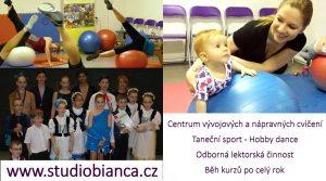 STUDIO BIANCA – Sportovně Vzdělávací Centrum Centrum vývojových a nápravných cvičení | Taneční sport – Hoddy dance | Další vzdělávání – Bc. Blanka Roháčková