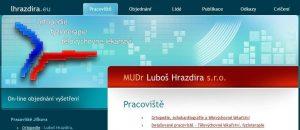 Doc MUDr Luboš Hrazdira, CSc Ortopedie, echokardiografie a tělovýchovné lékařství